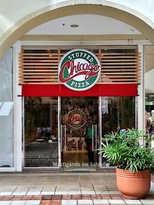 Chicago Stuffed Pizza: Fachada