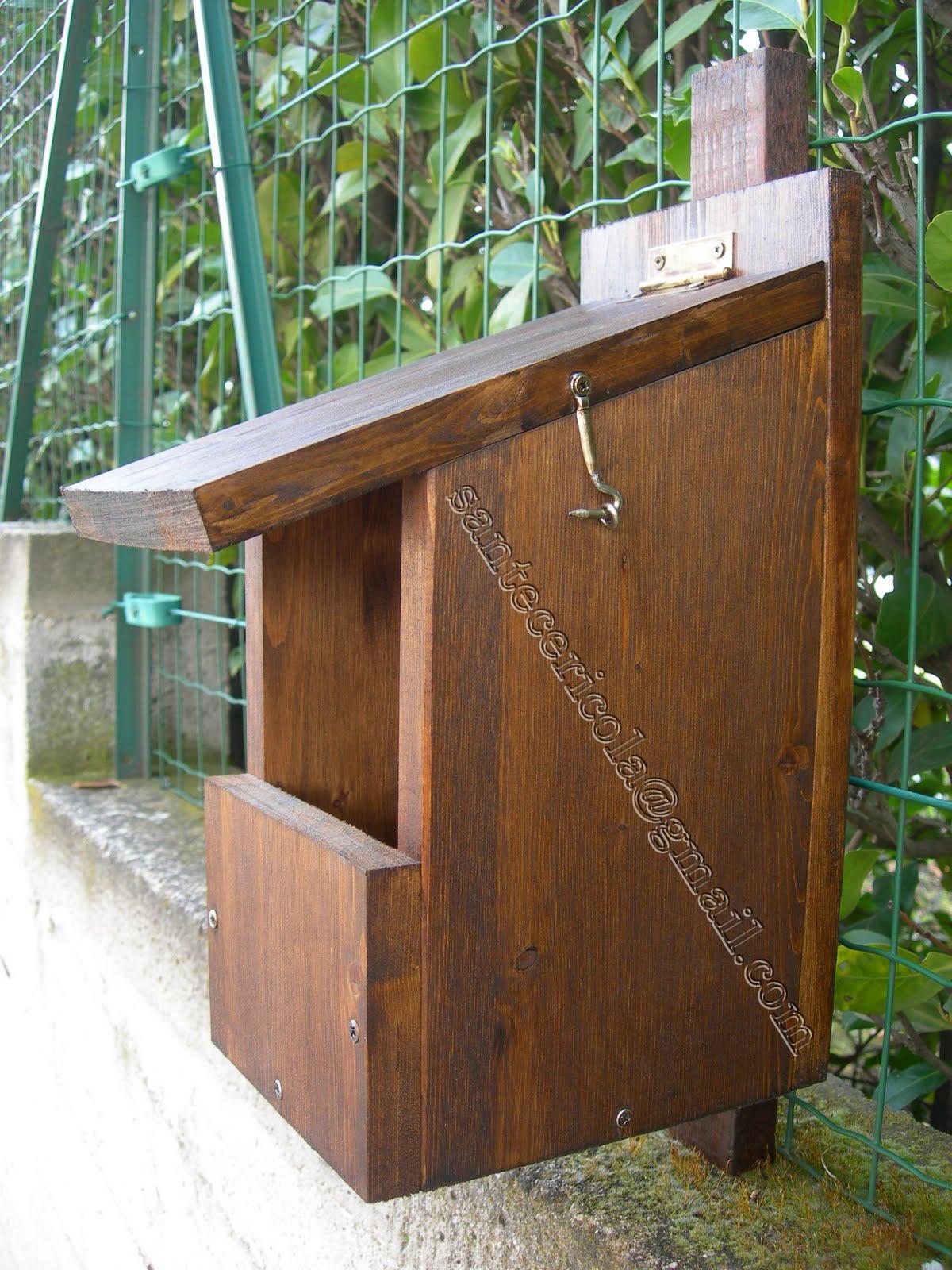 Cassette nido bat box mangiatoie rifugi per la fauna for Quanto costruire una casetta