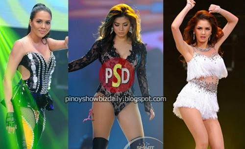 Kim Chiu, Julia Montes, and Angel Locsin on King of the Gil Concert