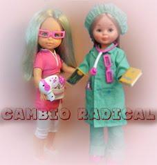 Restauración de una muñeca