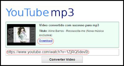 CONVERTER DE YOUTUBE PARA MP3 ONLINE