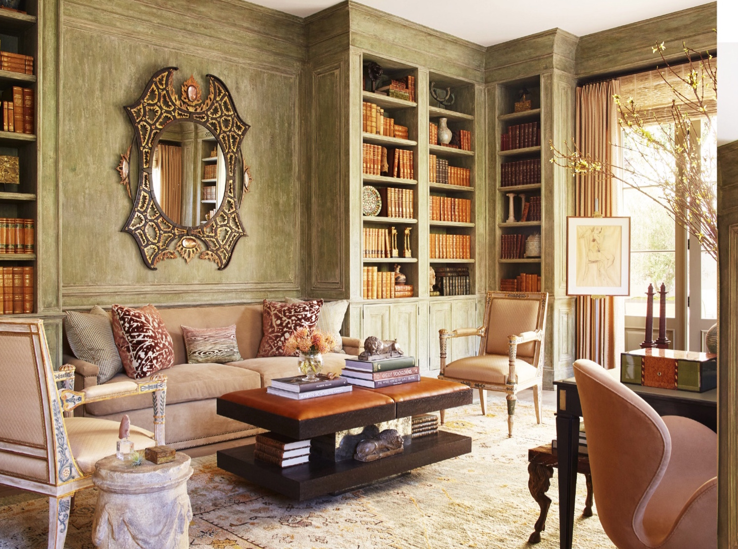 Richard hallberg design in montecito kelseycherry for Richard hallberg interior design