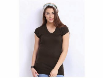 Myntra: Roadster Woman Brown Sweater At Rs. 494