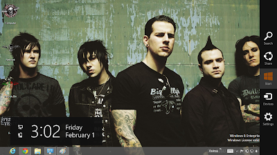 Avenged Sevenflod Theme For Windows 8