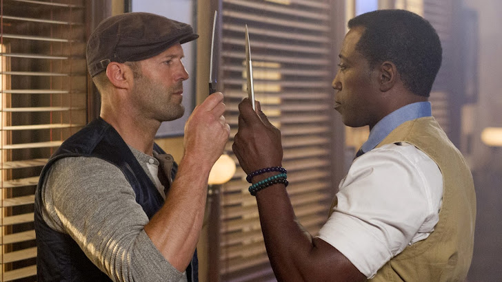 Wesley Snipes as Doc, Jason Statham as Lee Christmas