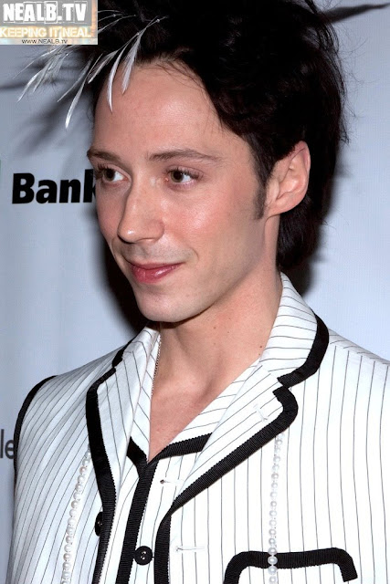 Johnny Weir. Photo © NealBtv @ Binky's Johnny Weir Blog.