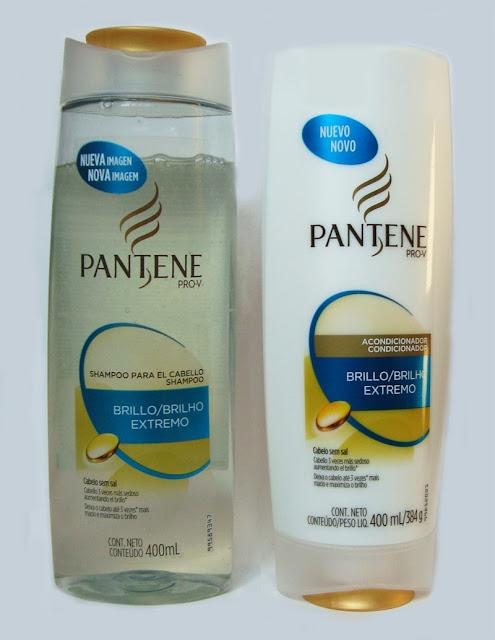 Resenha do Shampoo e Condicionador Pantene Brilho Extremo da Pantene Pro V