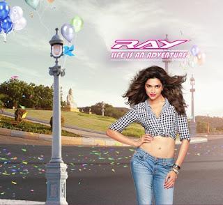 Sexy Deepika Padukone in Yamaha ad