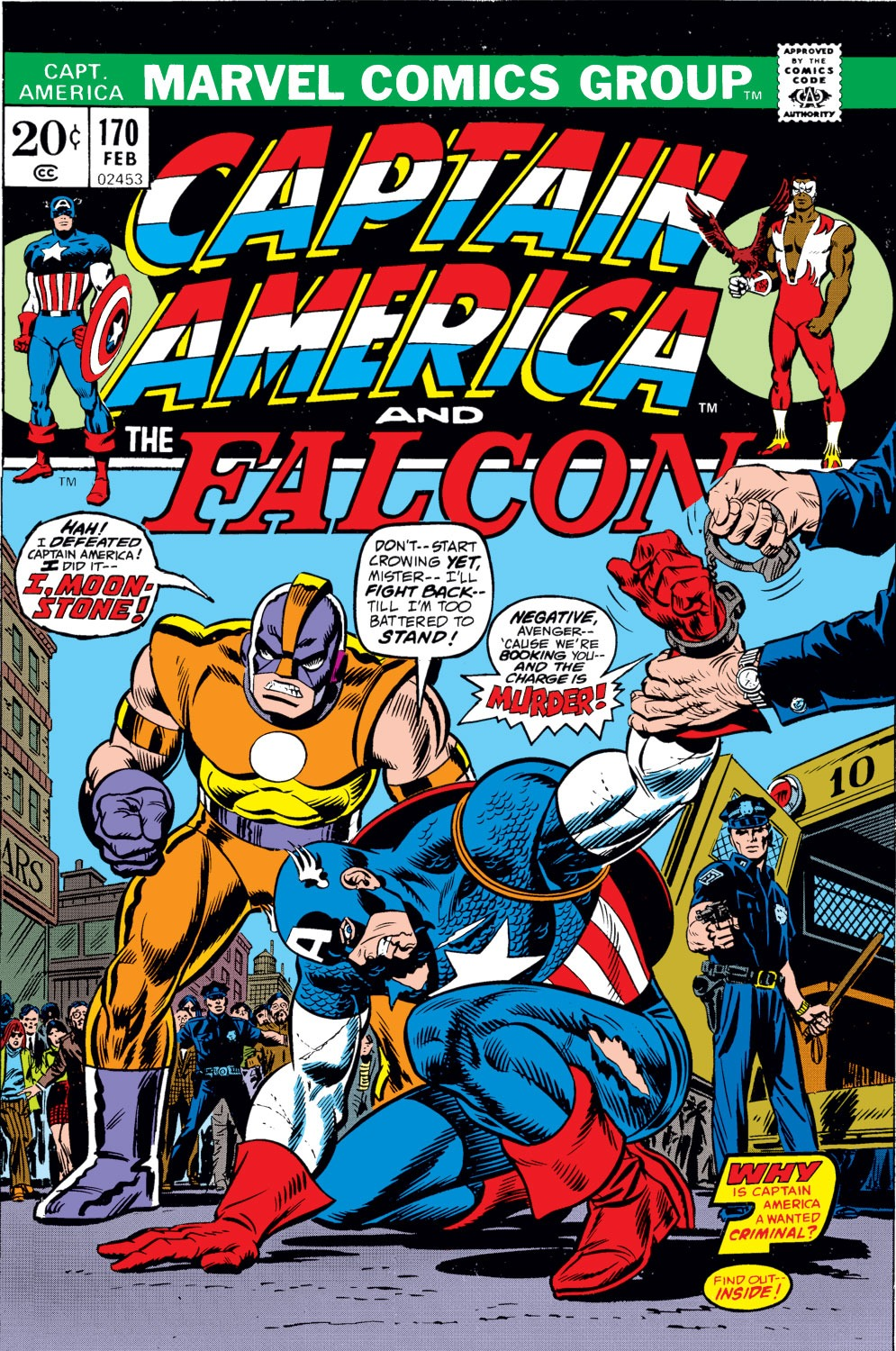 Captain America (1968) Issue #170 #84 - English 1
