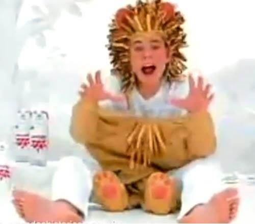 Campanha dos Mamíferos da Parmalat que voltaram às telas em 2007. Os bichinhos de 1997 tornaram adolescentes.