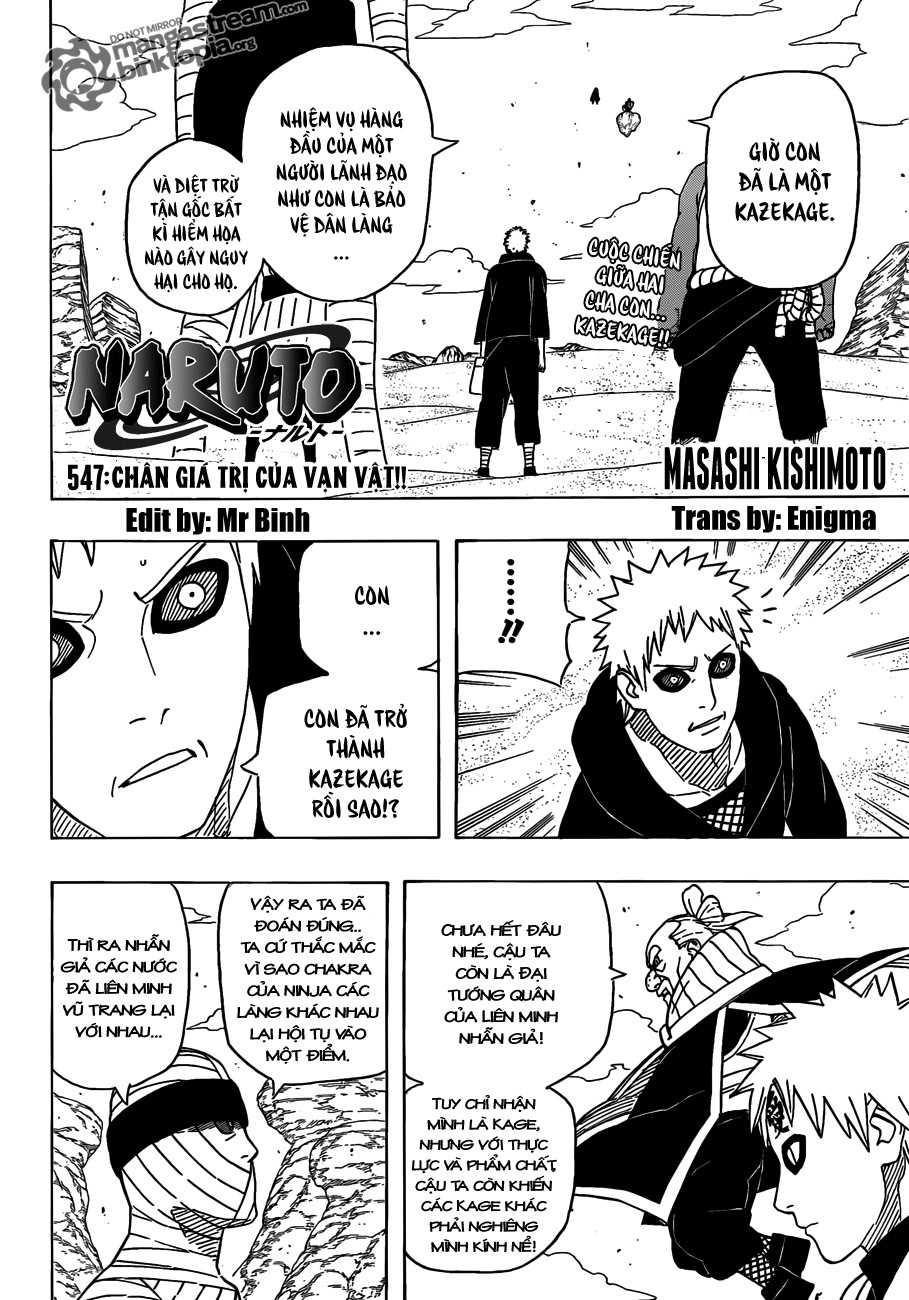 Naruto chap 547 Trang 2 - Mangak.info
