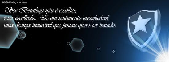 Brasão Botafogo - Capas para Facebook com frases