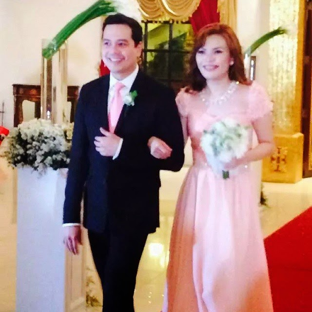 John lloyd Cruz in Joross Gamboa's wedding