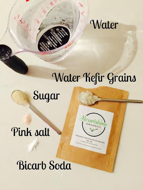 water kefir;  probiotics;  nourish me organics