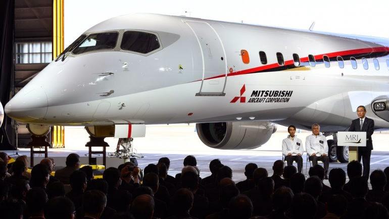 Japón lanza un avión comercial después de 50 años