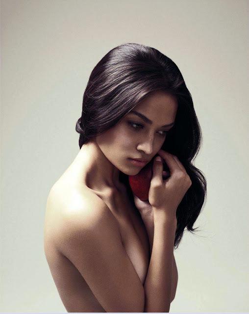 Shanina Shaik topless photo shoot