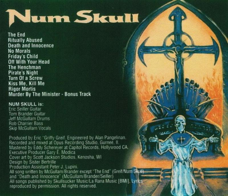 Num Skull - Ritually Abused