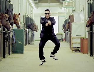 Gambar Gangnam Style Video