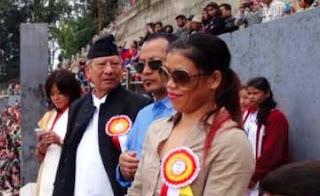MC Mary Kom aspiring Darjeeling boxers