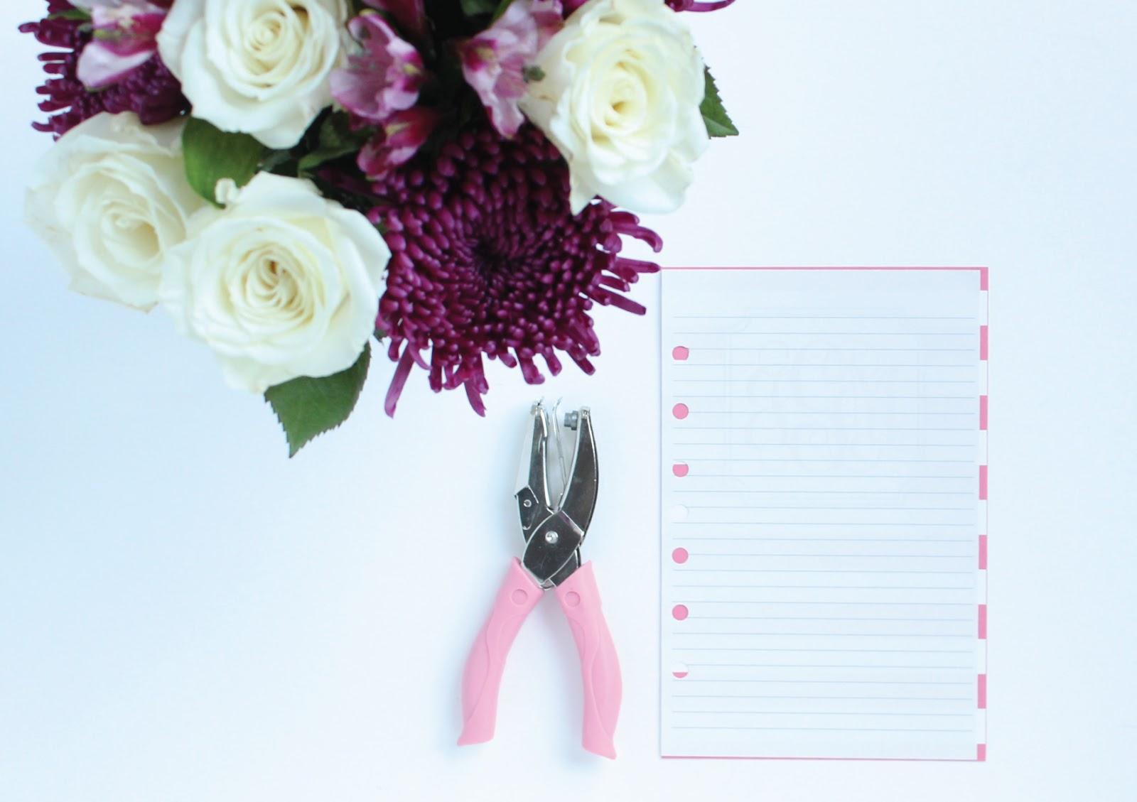 Custom Printable Dividers for Mini Binders by Jessica Marie Design