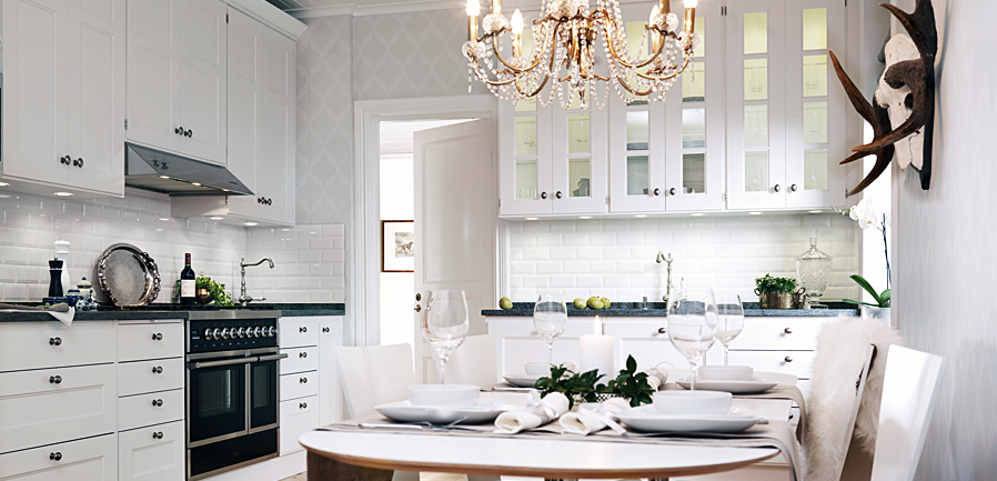 Nice SOMMERWHITE: SWEDISH KITCHENS