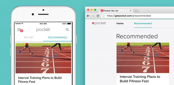 Pocket update adds Recommendations to the Desktop and Android, iOS apps
