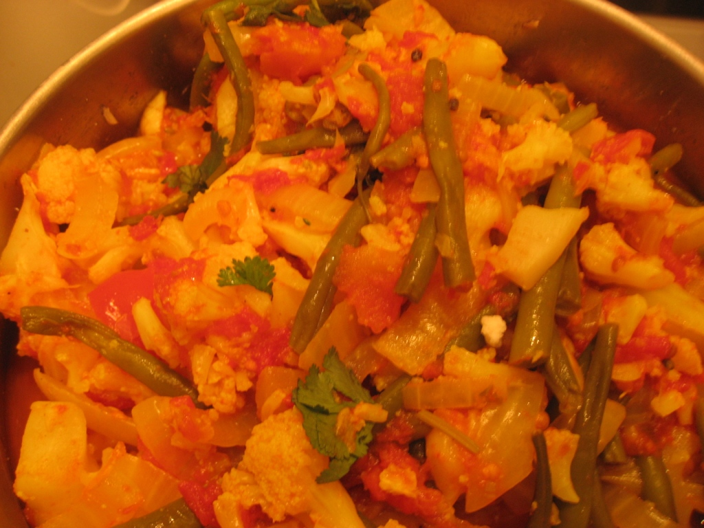 Scoff in the city: Cauliflower curry