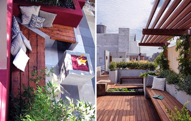 Backyard Patio Ideas For Small Spaces : Additional Patio Space for Small Backyard  Patios & Deck Designs