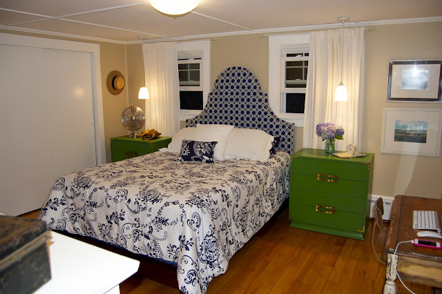 master bedroom sea cottage