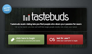 Tastebuds.fm – A social network to find mate with same musical interest