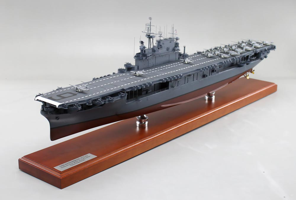 aircraft carrier model