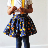 gathered skirt with hidden elastic waist tutorial