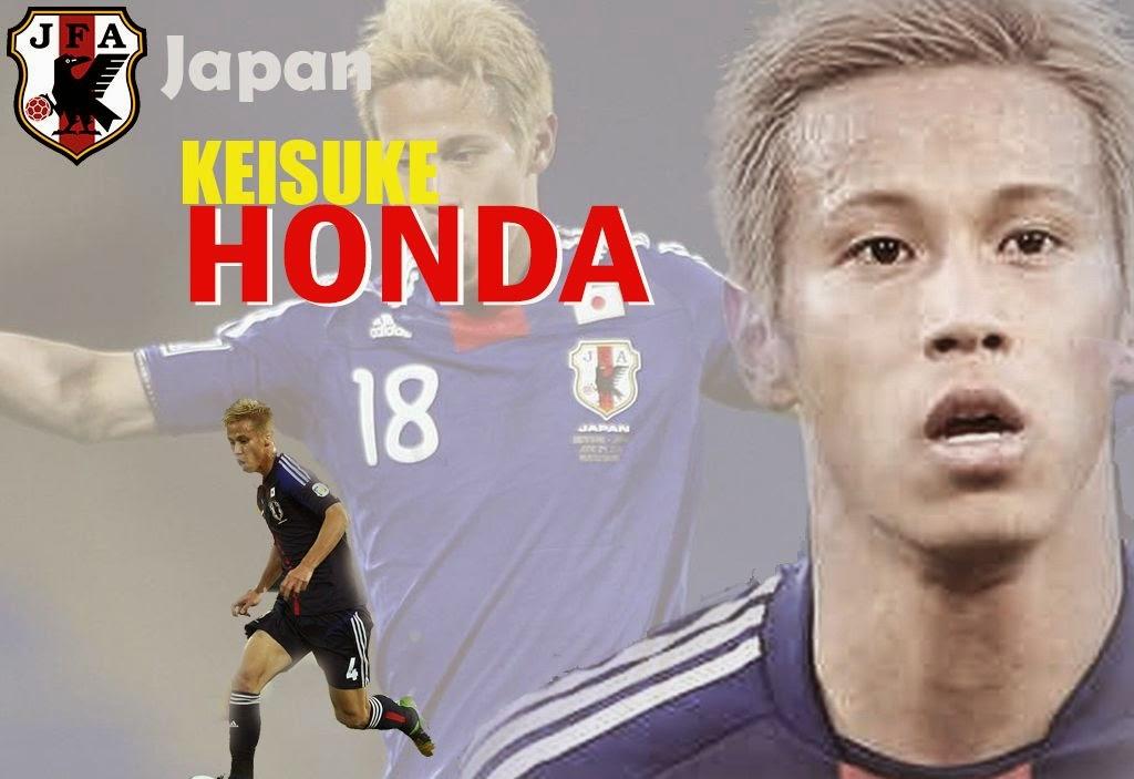 Wallpaper Keisuke Honda