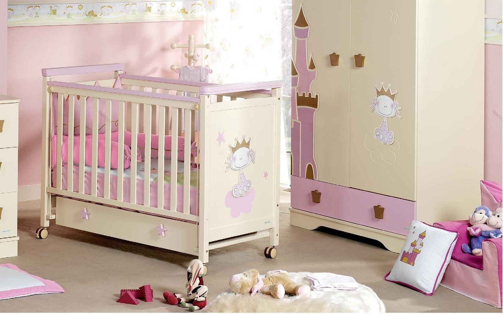 Decoração de Quartos Para Bebê Menina Cantinho da Sonia  ~ Wallpaper Quarto De Bebe