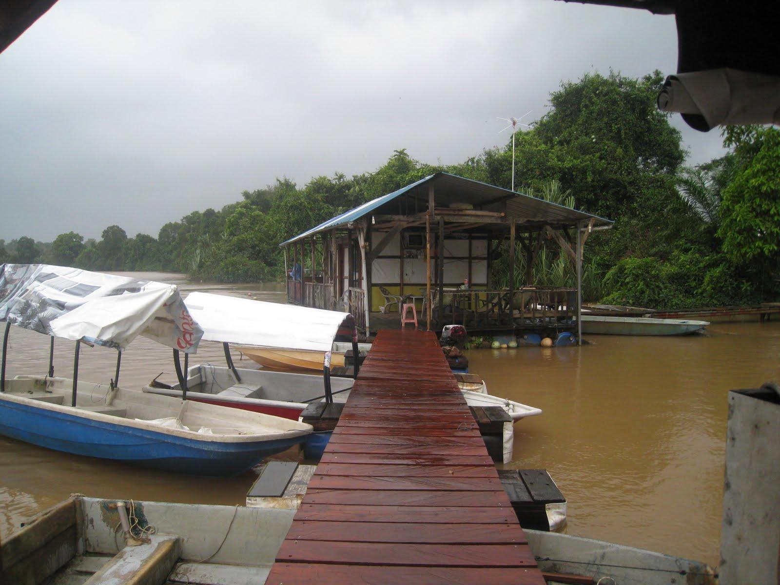 Download this Rumah Rakit Meng Rompin Pahang picture
