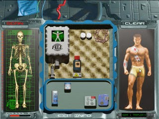Insane Health management for a 90's 3d game? YEAH