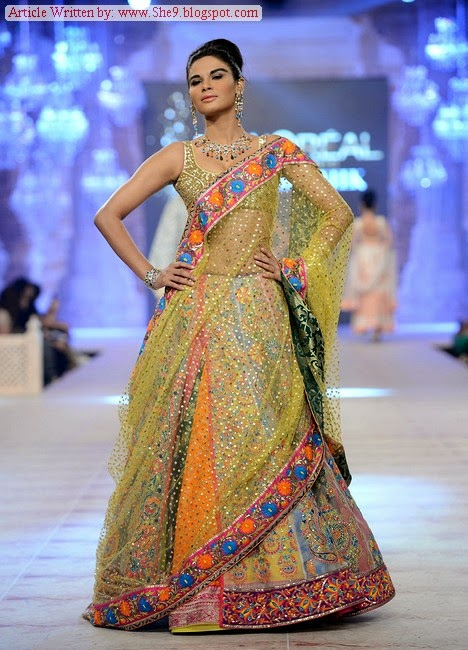 Nomi Ansari Bridal Collection at PFDC L`Oreal Paris Bridal Week 2014