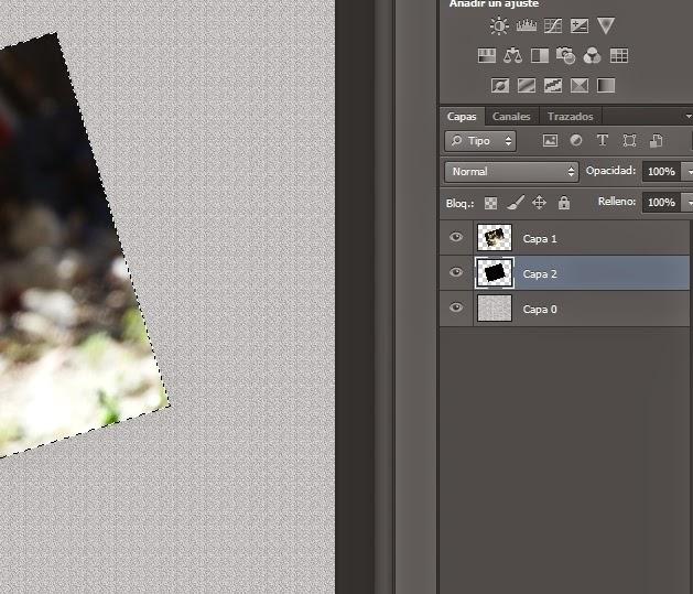 Bonito efecto curvado con sombras para tus fotos