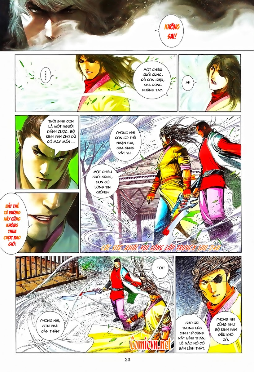Phong Vân chap 644 Trang 23 - Mangak.info