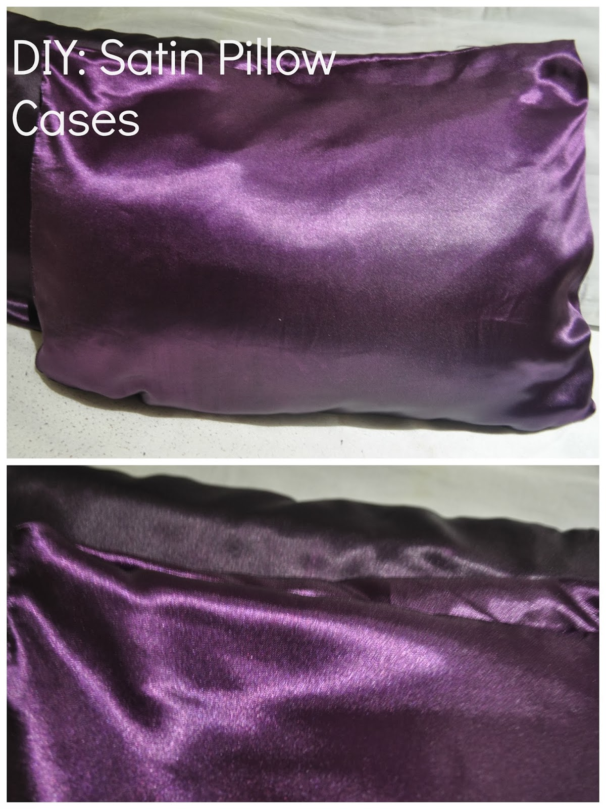 Diy Satin Pillowcase: Cherished Crowns  DIY  Satin Pillow Case,