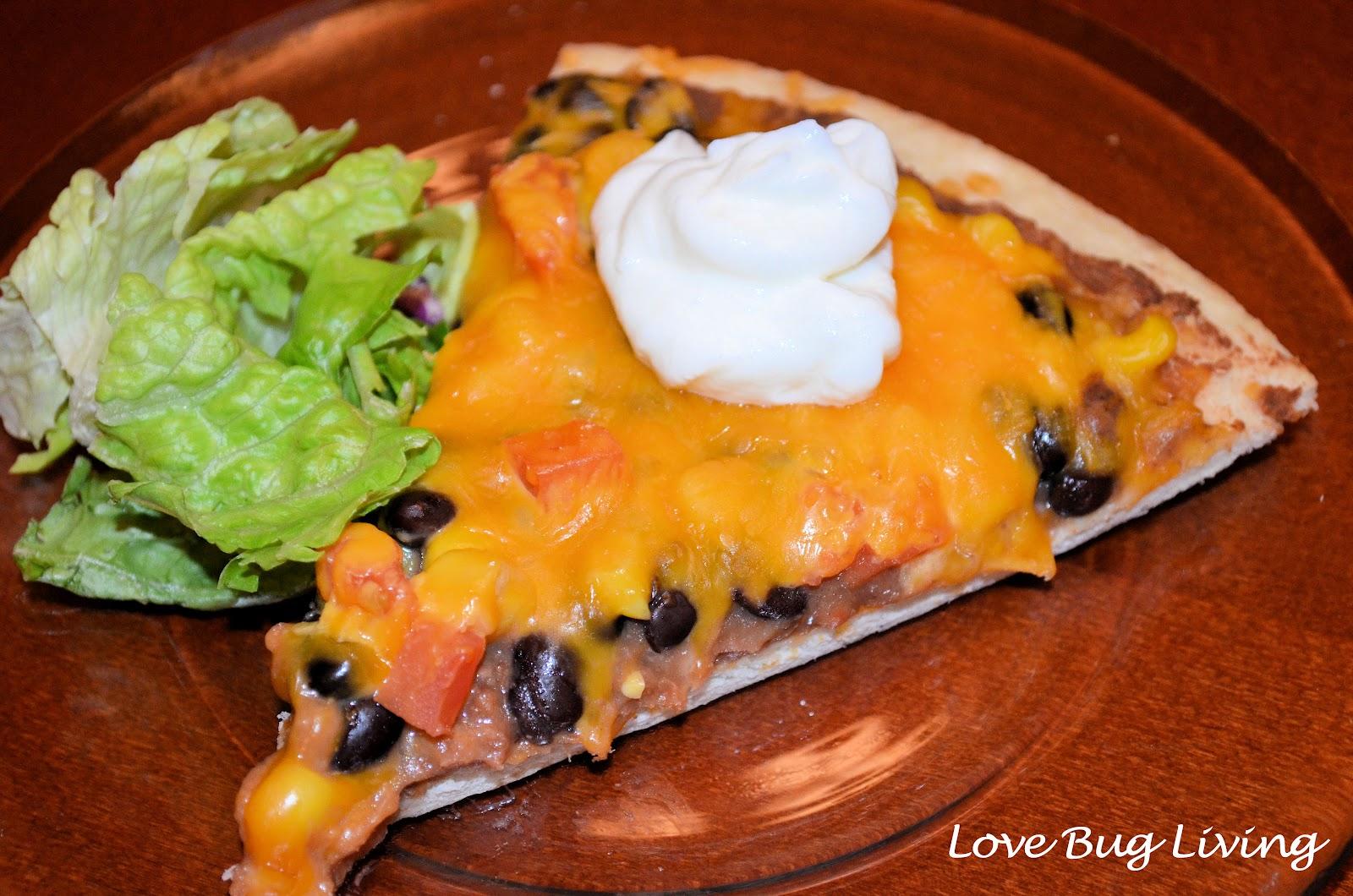 love bug living mexican pizza. Black Bedroom Furniture Sets. Home Design Ideas