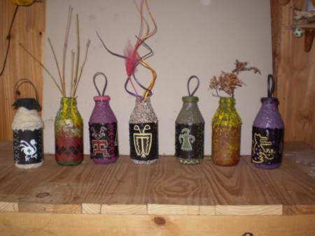 Portafolio evidencias informatica 1 proyecto vidrio - Botellas de cristal decoradas ...