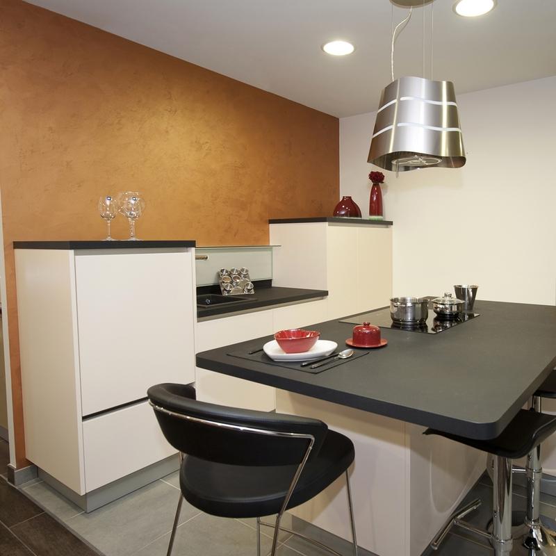 Le blog de caradec cr ations palissandre une cuisine for De cuisines conviviales