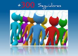 Premio 300 seguidores