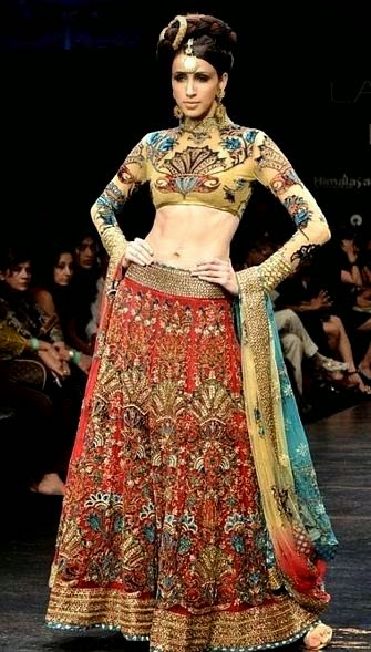 Neetu Lulla Designer Lehnga Collection 2014