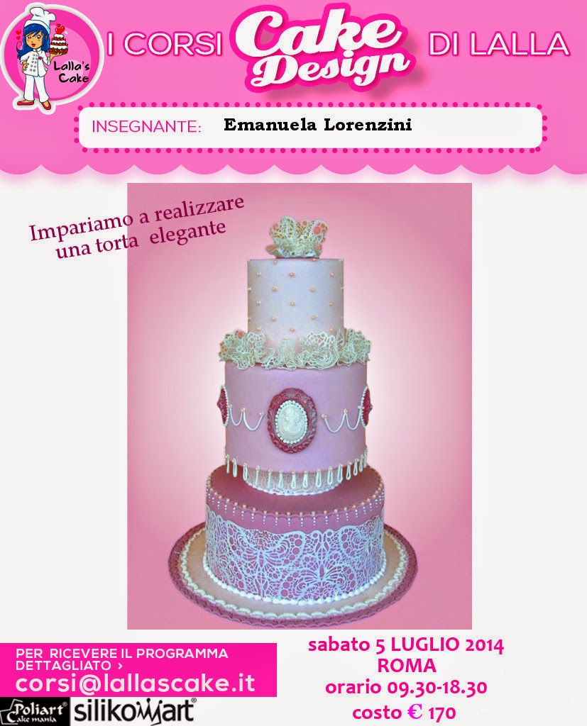 Nuove date corsi di cake design a Roma Lalla s Cake ...