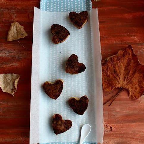 Mini serniczki z piernikową nutą