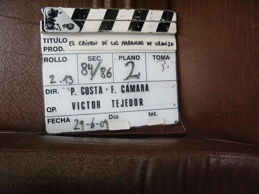 claqueta tv movie Los marqueses de Urquijo