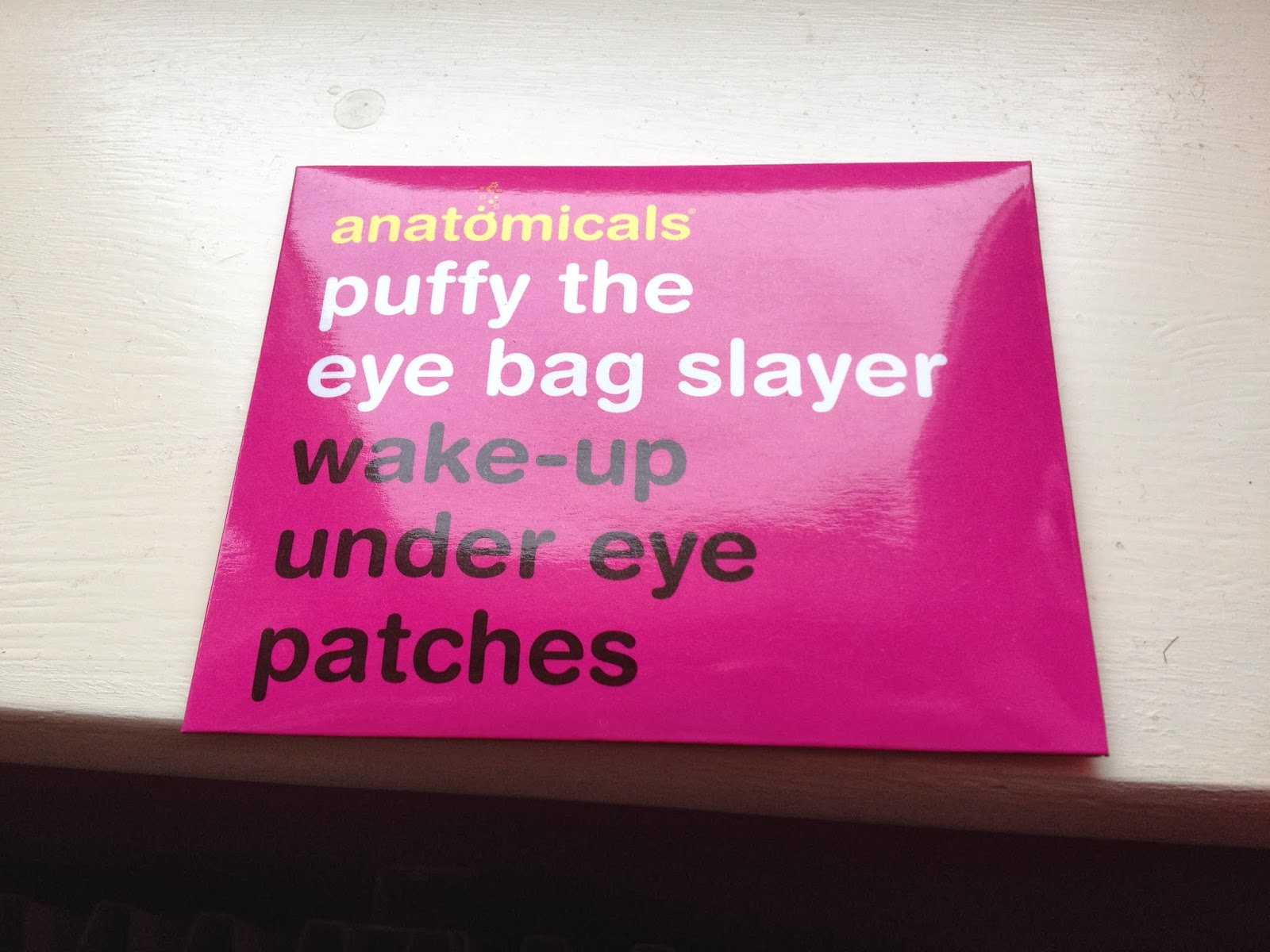 Anatomicals Puffy The Eye Bag Slayer Wake-Up Under Eye Patches