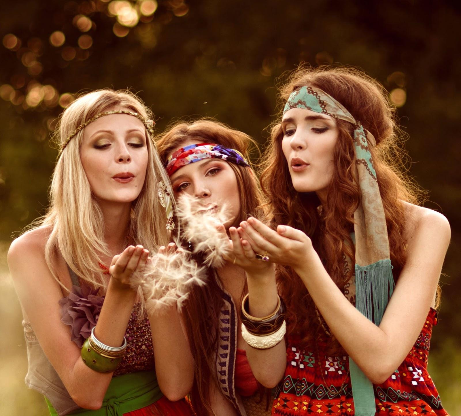 Clube da beleza e maquiagem anos 70 - Hippies anos 70 ...